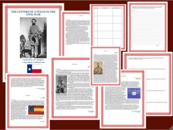 Letters of a Texas soldier in the Civil War Close Reading