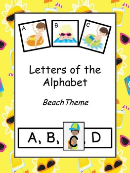 Letters of the Alphabet Beach Theme