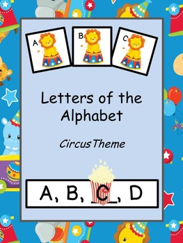 Letters of the Alphabet Circus Theme
