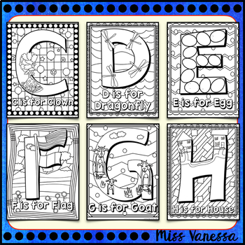 Uppercase And Lowercase Letters of the Alphabet Coloring ...