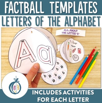 Letters of the Alphabet Factball printable activities