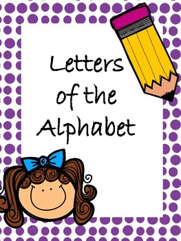 Letters of the Alphabet Flash Cards Freebie!