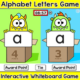 Letters of the Alphabet Monsters Head-to-Head Team Challen