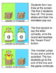 Letters of the Alphabet Monsters Team Challenge Game: Letter Recognition Game