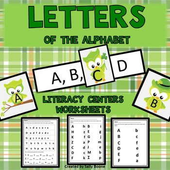 Letters of the Alphabet St Patrick's Day Theme