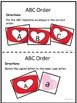 Valentine's Day Activities Letter Recognition Literacy Centers Worksheets
