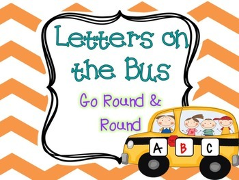 Letters on the Bus Activity