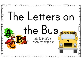 Letters on the Bus Big Book