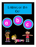 Letters on the Go! -Lower Case