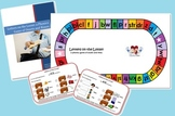 Letters on the Loose: Phonics Game of Onsets & Rimes (Full Version w Rime Cards)