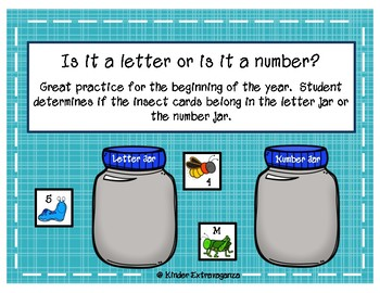 Letters or Numbers with Bugs