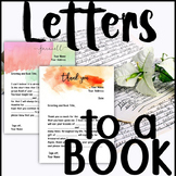 Letters to Books: A meaningful way to reflect on themes and messages of books