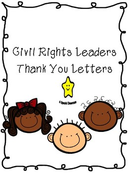 Letters to Civil Rights Leaders