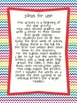 Letters to First Grade! A SECOND Grade Back to School Writing Activity.