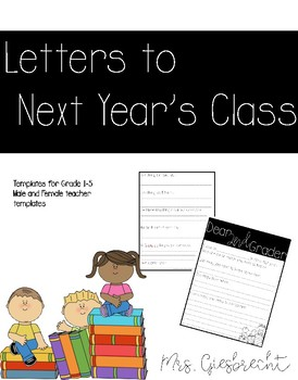 Letters to Future Students