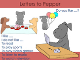 Letters to Pepper in English