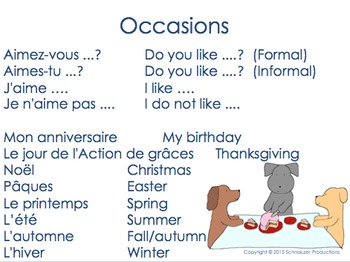 Letters to Pepper in French