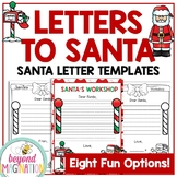 Christmas Activities Letters to Santa Writing Paper