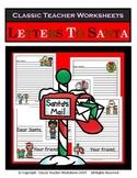 Letters to Santa-Christmas-Kindergarten Grade 1 (1st Grade) Grade 2 (2nd Grade)