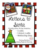 Letters to Santa: Friendly Letter Templates
