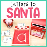 Letters to Santa | Sand Tray Letter Formation Cards | Print
