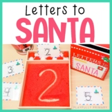 Letters to Santa | Sand Tray Number Formation Cards | 0-20