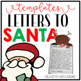 Letters to Santa Templates and Page Toppers