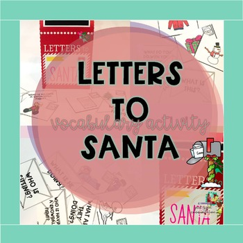 Letters to Santa Vocabulary