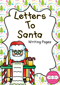 Letters to Santa Writing Pages