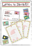 Letters to Santa Xmas Activity. Stamps, writing paper + en