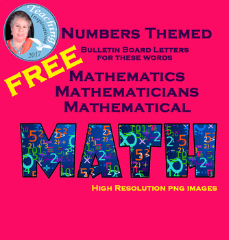 Letters to Spell Mathematics