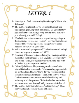 Letters to a Young Catholic Literary Project