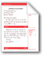 Letters to an Author (Gr. 3/Week 3)