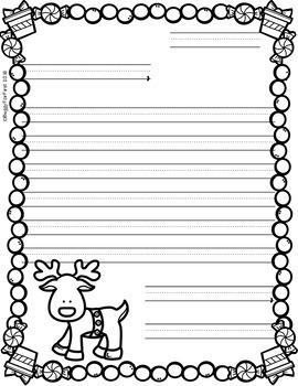Letters to Santa-Christmas Writing-Writing Process
