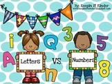 Letters vs Numbers sort