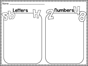 Letters vs Numbers sort