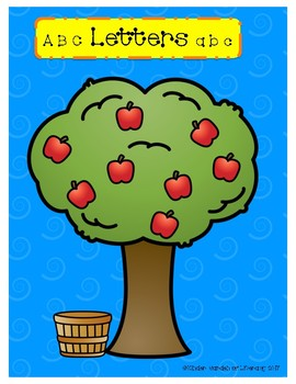 Letters vs. Words-Apple Tree