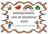 Letter/sound cut up sentence pack
