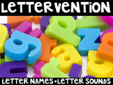 Lettervention: Kindergarten Letter Intervention Curriculum