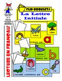 Lettre Initiale - Beginning Letter Flip Books in French