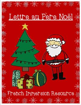 Lettre au Père Noël - French Letter to Santa