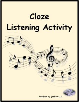 Lettre au Père Noël song by Patrick Bruel Cloze Listening Activity