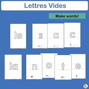 French: Lettres Vides complements  Le manuel phonique by Jolly Learning Ltd.