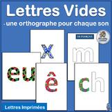 French: Lettres Vides complements programs like Le manuel phonique.