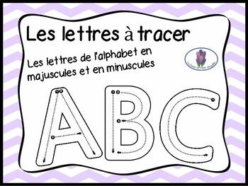 Lettres à tracer