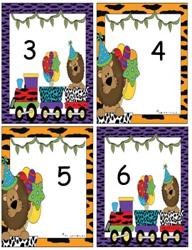 Lettres alphabet et animaux du cirque (alphabet cards and number activities)