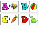 Lettres et sons initiaux puzzles:  French alphabet puzzles
