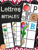 Lettres initiales - 20 planches