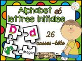 Lettres initiales et alphabet - 26 casses-tête