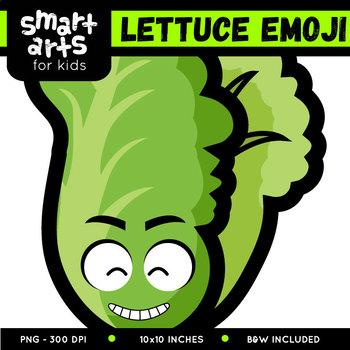 Lettuce Emoji Clip Art